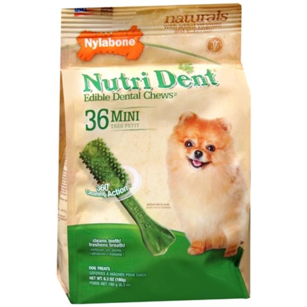Nylabone Nutri Dent Minichews for Mini Dogs