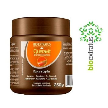 Bio Extratus Queravit Brazilian Keratin & Macadamia Hair Treatment Mask - 250g
