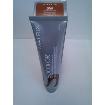 Matrix Socolor Blended Collection Permanent Cream Hair Color 5W Medium Brown Brown