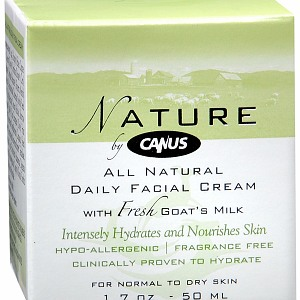 Nature by Canus All Natural Daily Facial Cream for Normal to Dry Skin