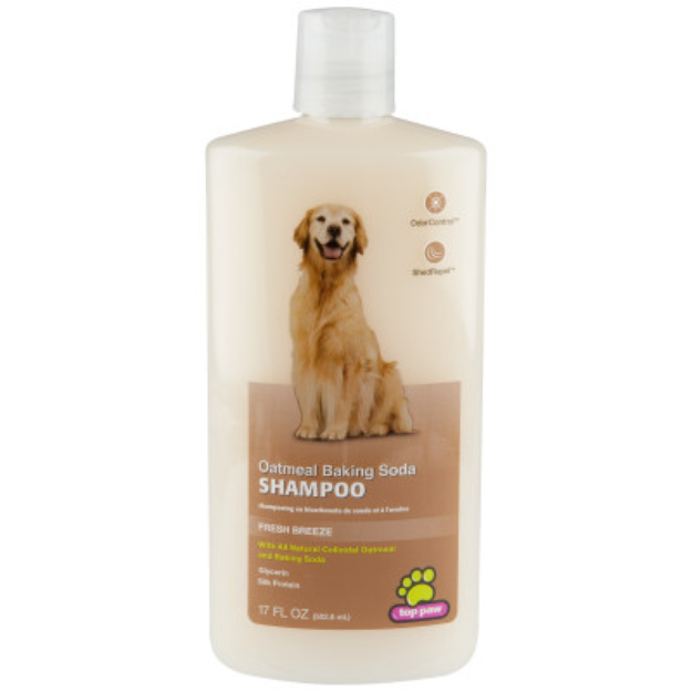 Top Paw Fresh Breeze Oatmeal Baking Soda Dog Shampoo