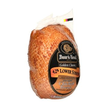 Boar's Head Golden Classic Low Sodium Oven Roasted Chicken Breast