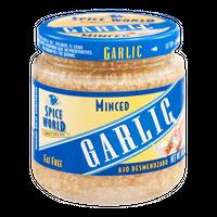 Spice World Minced Garlic California Grown