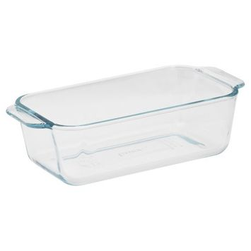 Pyrex Basics 1.5-Quart Loaf Pan, Glass