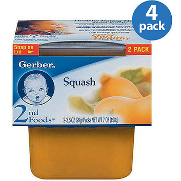 Gerber® 2nd Foods Baby Foods Squash
