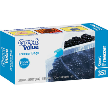 Great Value Storage Bags