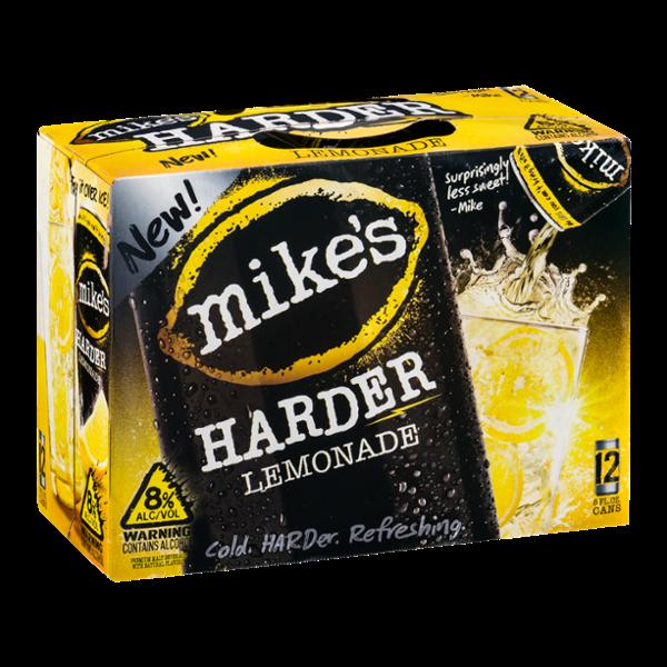Mike's Harder Lemonade Lemonade Flavor - 12 CT