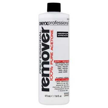 ONYX Professional 100% Pure Acetone Nail Polish Remover