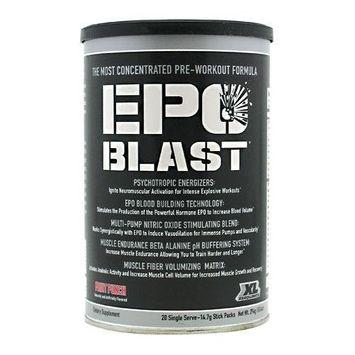 Xero Limits Epo Blast, Fruit Punch 20 Packets, 0.9-Pound Box