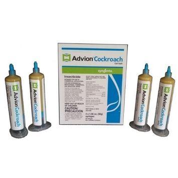Advion Roach Bait 4 Tubes Advion Cockroach Gel Bait, 4-syringes