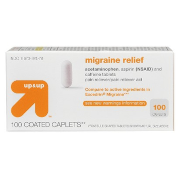 up & up Migraine Formula Caplet 100-pk.