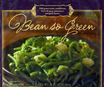 Trader Joe's Bean so Green