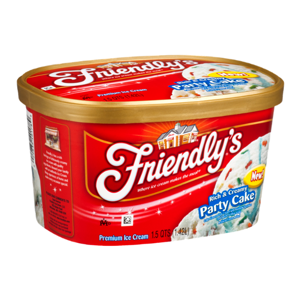 Friendly's Ice Cream Rich & Creamy Party Cake