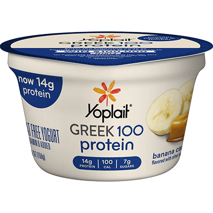 Yoplait® Greek 100 Protein Banana Caramel Yogurt
