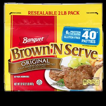 Banquet Brown 'N Serve Original Sausage Patties
