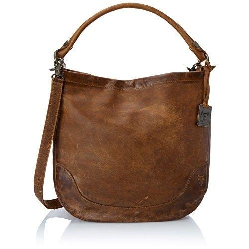 Frye Melissa Hobo Bag [Cognac, One Size]