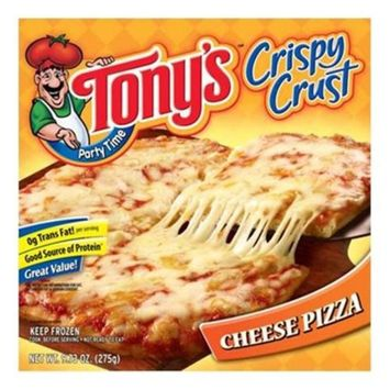 Tony's Party Time Crispy Crust Cheese Pizza 9.73-oz.