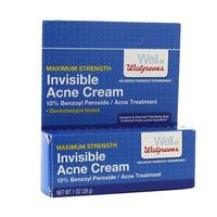 Walgreens Maximum Strength Invisable Acne Cream