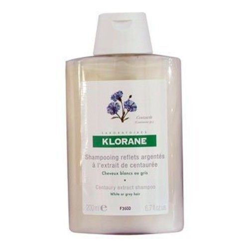 Klorane Silver Highlight Shampoo with Centaurea Extract