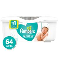 Pampers Wipes Sensitive 64 Ct