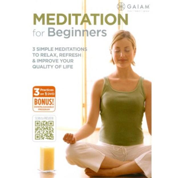 Gaiam MEDITATION FOR BEGINNERS (DVD)