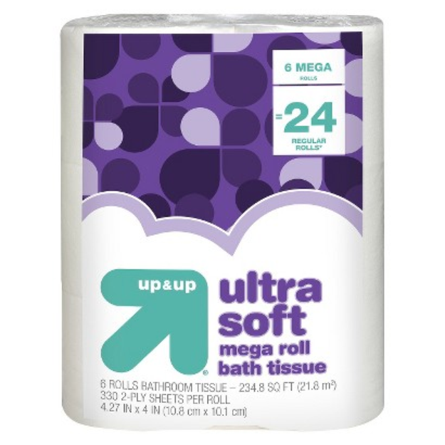 up & up Premium Bath Tissue Soft and Strong