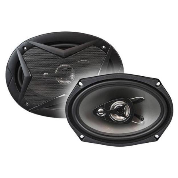 Monoprice 6 x 9 Inch 3-Way Car Speaker (Pair) - 90W