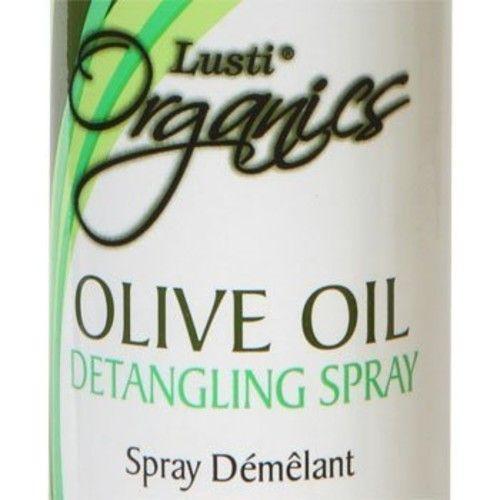Lusti Organics Olive Oil Anti-frizz Hair Detangling Spray 12oz