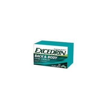 Excedrin Back & Body 24 bi-layered caplet