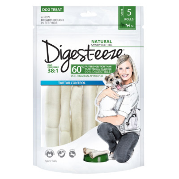 Digest-Eeze Thin Rolled Dog Treat