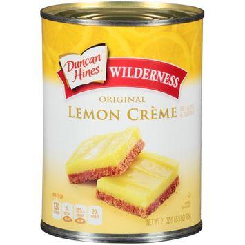 Duncan Hines  Wilderness Original Lemon Creme Pie Filling & Topping 21 oz