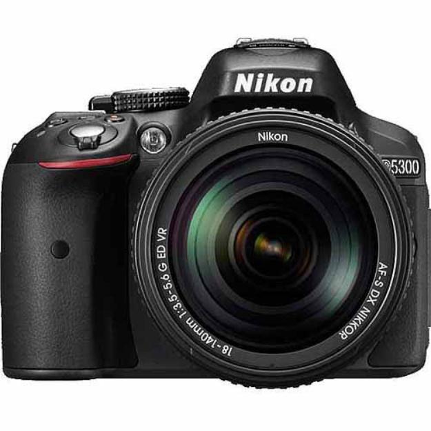 Nikon D5300 DSLR Camera Body (Black)