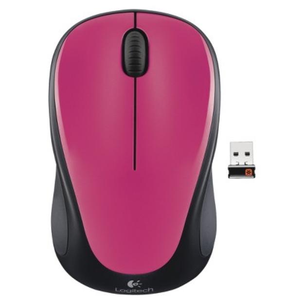Logitech M315 Cordless Mouse - Pink (910-003151)