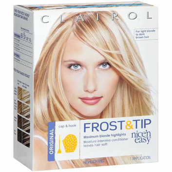 Clairol Nice 'N Easy Frost & Tip Haircolor for Light Blonde to Dark Brown Hair