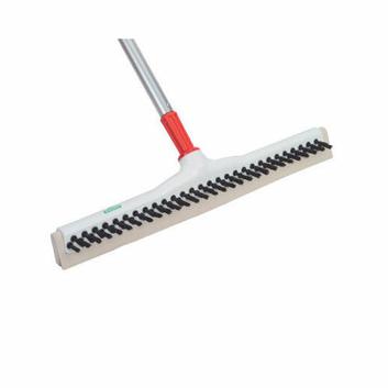 UNGER SmartFit Sanitary Brush in White Handle