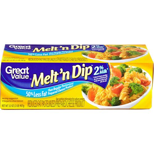Great Value Easy Melt Reduced Fat Cheese Product, 32 oz