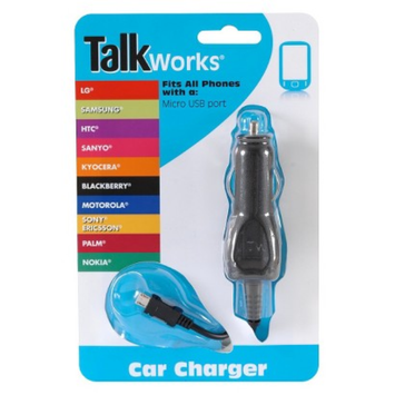Just Wireless Talkworks Mobile Phone Battery Charger - Black