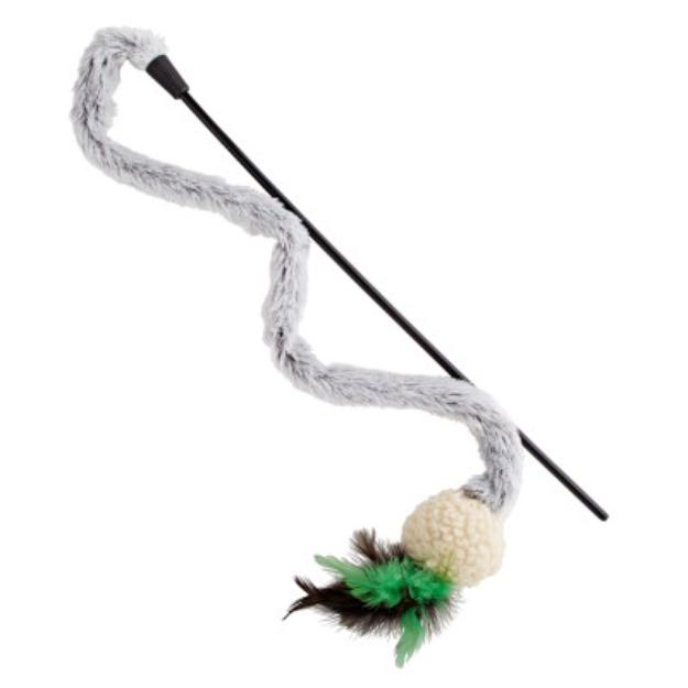 PetlinksTM Squiggle Stick Cat Toy