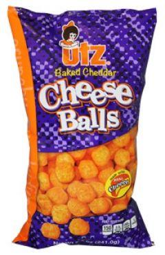 Utz Baked Cheddar Cheese Balls