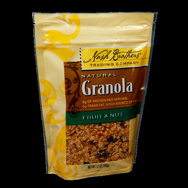 Nash Brothers Natural Fruit & Nut Granola