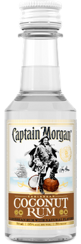 Captain Morgan Caribbean Coconut 0.050L PET US
