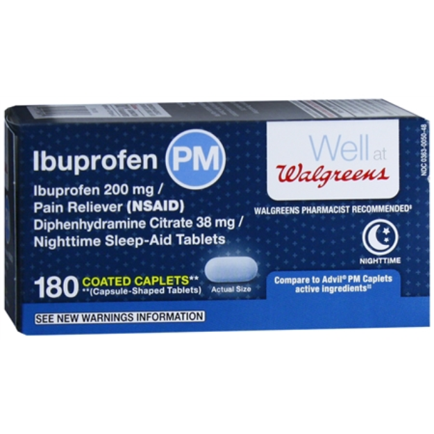 Slide: Walgreens Ibuprofen PM