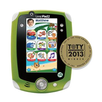 Leapfrog LeapFrog LeapPad2 Explorer Kids' Learning Tablet, Green