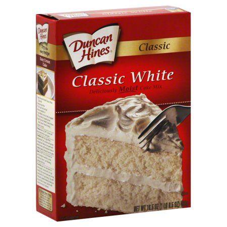 Duncan Hines® Classic White Cake Mix