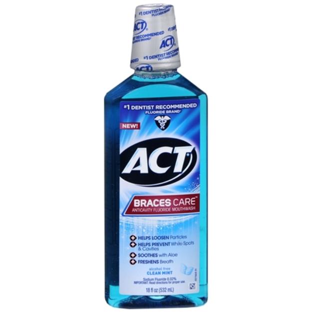 ACT® Braces Care - Clean Mint