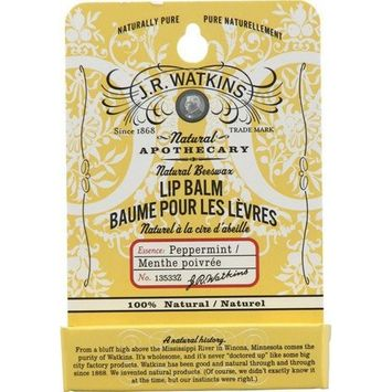 Jr Watkins J. R. Watkins Natural Beeswax Lip Balm