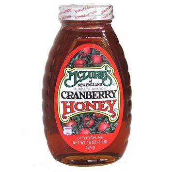 Mclrne Honey, Cranberry , 16 oz (pack of 12 ) ( Value Bulk Multi-pack)