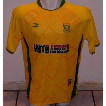 DRAKO INC 2010 world cup host SOUTH AFRICA Soccer Jersey :: Pro Futball Jersey LARGE