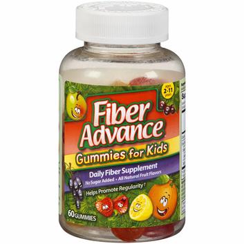 Fiber Advance Gummies For Kids Daily Fiber Supplement