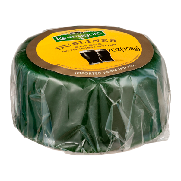 Kerrygold Dubliner Cheese with Irish Stout